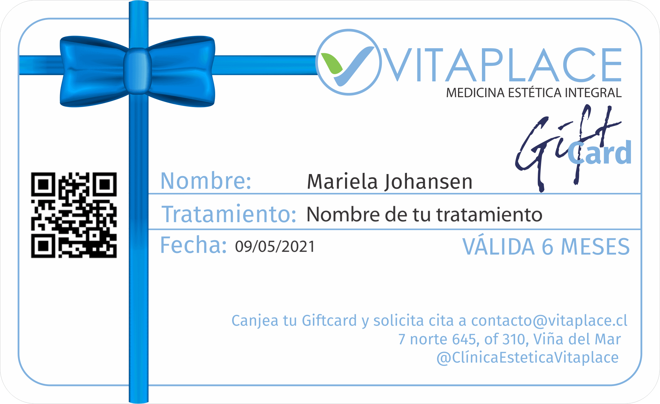 giftcard vitaplace